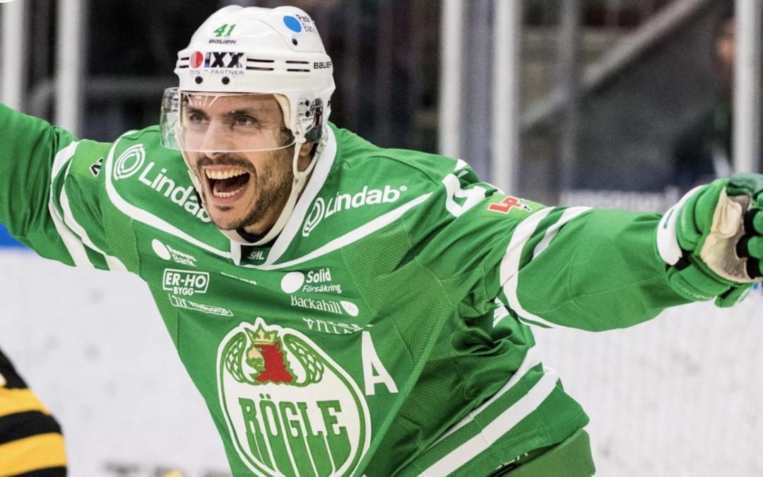 """Daniel Widing: """"Rögle har kastat de två första matcherna i papperskorgen"""""""